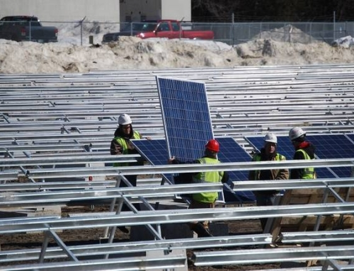 Peterborough Solar Project Nearing Completion