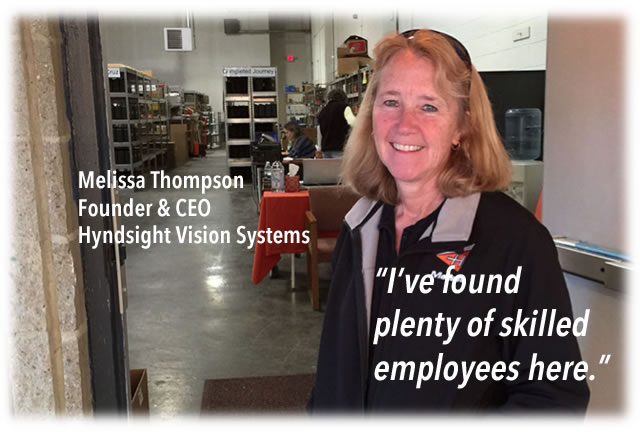 Hyndsight Vision Systems CEO in Peterborough NH