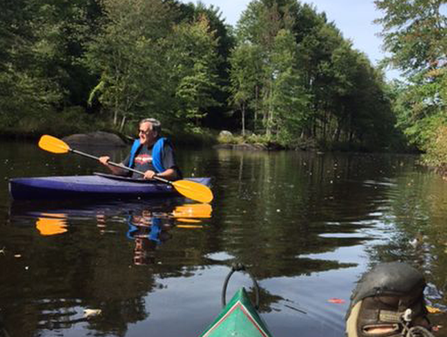 Kayaking Peterborough NH