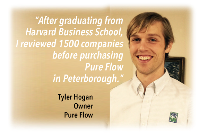 Young businessman moves to Peterborough NH