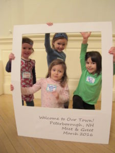 Some of our youngest residents add their welcome!