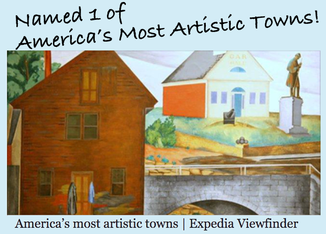 Most artistic towns